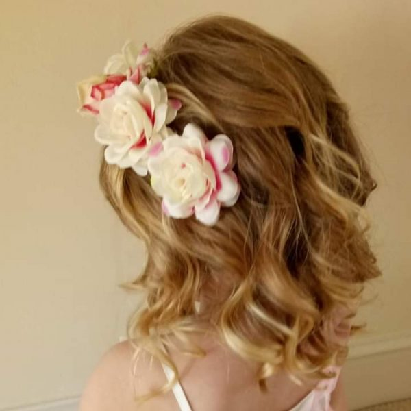 gower-bridal-hair-bridesmaid